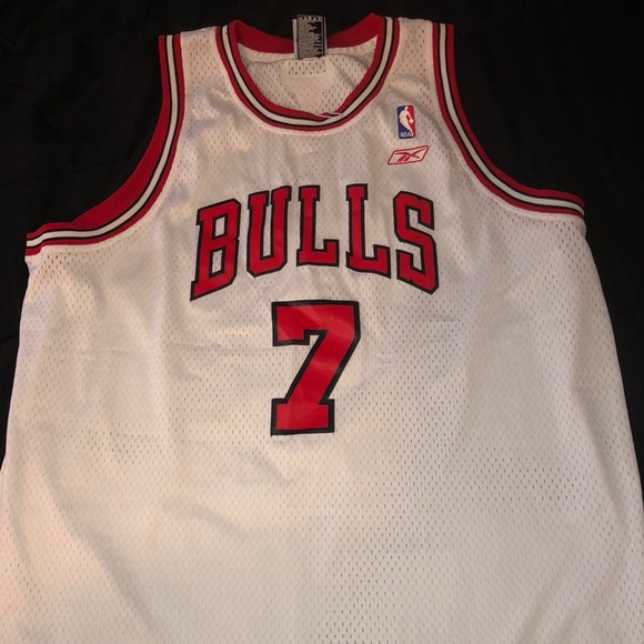 check out cf49c 05135 Reebok Authentic Bulls Jersey ‼️
